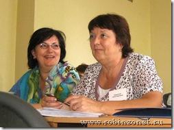 Участники Инга Неволина (Вяртсиля) и Нина Куренкова (Муезерка)