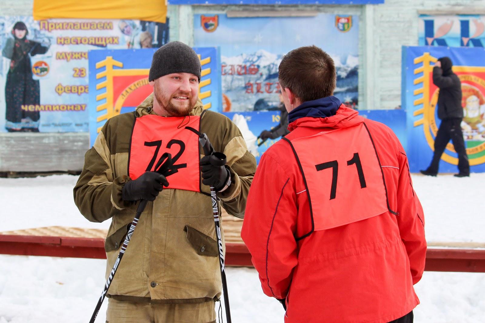 Александр Рогаткин на чемпионате 2015 в Лахденпохья