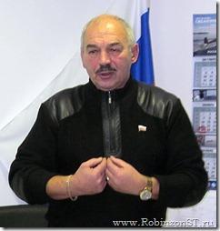 Фото - Председатель курк совета Михаил Баев защищает право поселения на чистый воздух