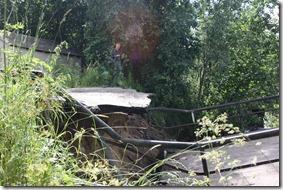 2012.07.19  Мост Место обрушения вид сверху по течению