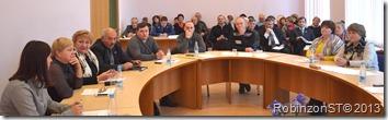 Первое заседание районного Совета нового созыва.