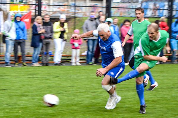 игровой футбольный момент
