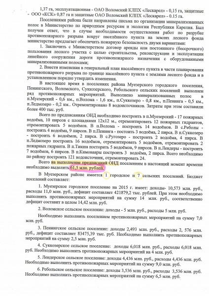 03 Пожары 2 стр  Муезерский район