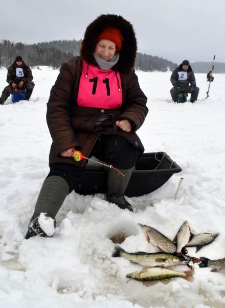 Людмила Гордюхина 1 место среди женщин