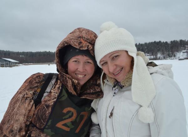Татьяна Проворова и Ирина Маньшина