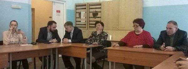 Депутаты ЗС, сдавшие экзамен, на подведении итогов.