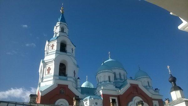 Валаамский собор - красота необыкновенная.