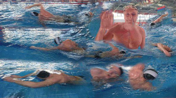"""Виктор Позерн - плавание. """"Долго еще аукаются эти 800 метров вольным стилем""""."""
