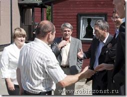 Делегация ЗС на пункте пропуска Сювяоро-Колмиканта