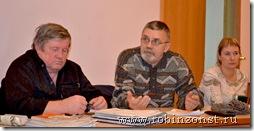 Круглый стол, активные граждане-  Конищев и Лебедев и депутат Каява