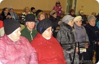 Встреча в 1 школе с жителями города