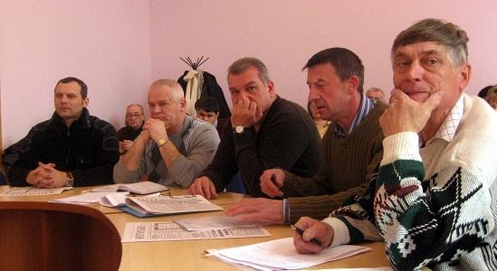Депутаты Гривицкий, Попович, Жучик, Галушко, Лысенко