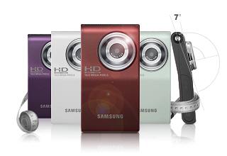Samsung U 10 – видеокамера на все случаи жизни