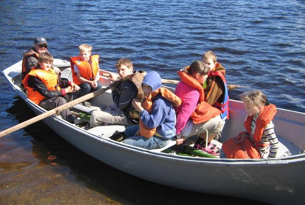 ДЮСШ-лагерь на воде