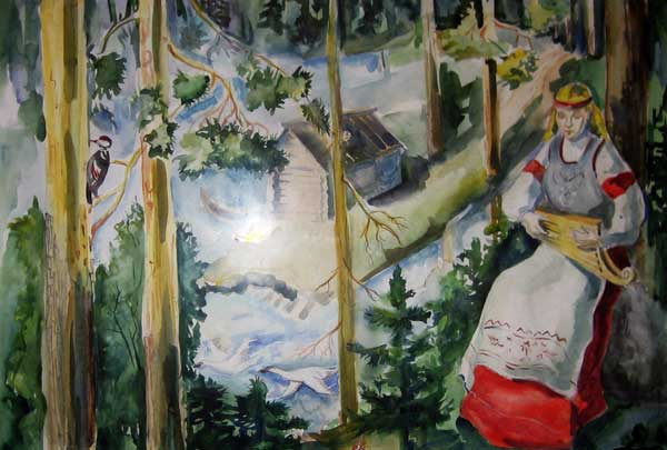Грустная песня -Алена Рафейченко 16 лет