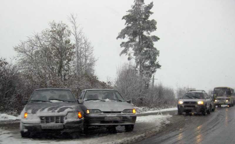 ервый Снег или опять Зима пришла внезапно