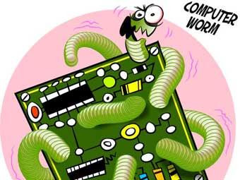 Компьютерный червь, который все испортил и подменил данные в Плане