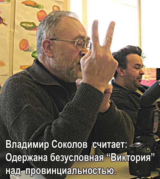 Владимир Соколов считает