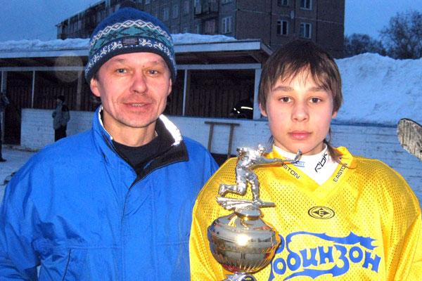 Игорь Каймаков с сыном