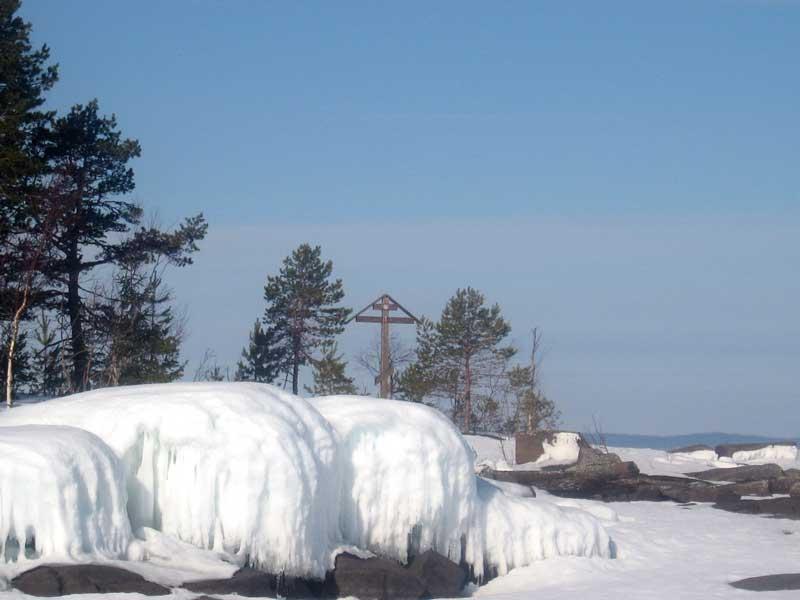 По традиции окончание лыжного сезона в пожарном отряде завершено походами по ладожским шхерам