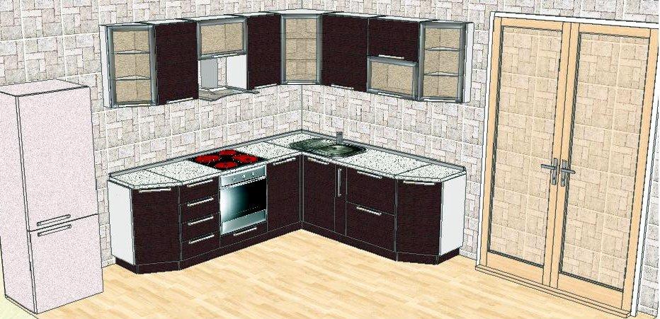 Компьютерное моделирование вашей кухни