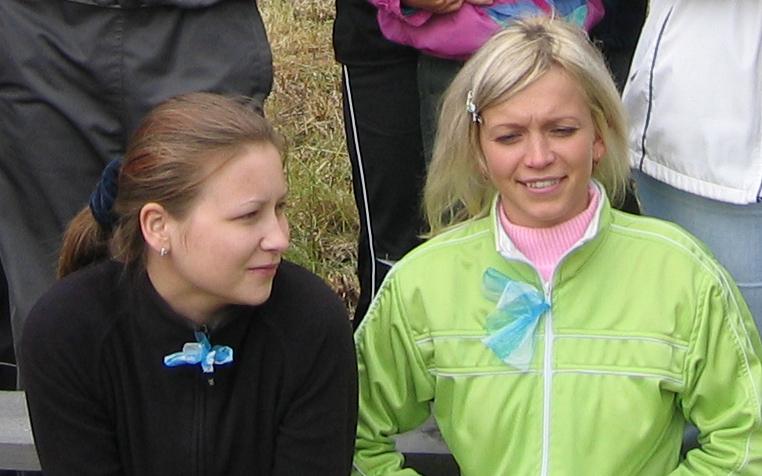 Александра Бабикова и Мария Довыдова